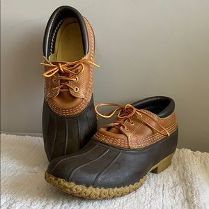 L.L. Bean boots Brown Duck Boots made in USA  8